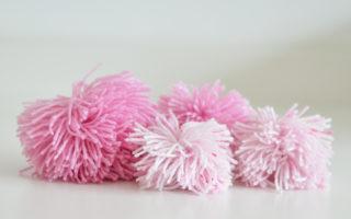pompom van wol